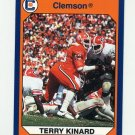 1990-91 Clemson Collegiate Collection #089 Terry Kinard - Clemson Tigers