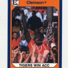 1990-91 Clemson Collegiate Collection #080 Tigers With ACC Title - Clemson Tigers