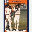 1990-91 Clemson Collegiate Collection #072 Chuck Baldwin - Clemson Tigers
