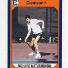 1990-91 Clemson Collegiate Collection #070 Richard Matuszewski - Clemson Tigers