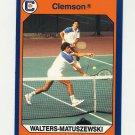 1990-91 Clemson Collegiate Collection #061 Matuszewski and Walters - Clemson Tigers