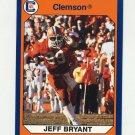 1990-91 Clemson Collegiate Collection #057 Jeff Bryant - Clemson Tigers