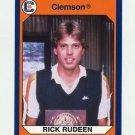 1990-91 Clemson Collegiate Collection #056 Rick Rudeen - Clemson Tigers