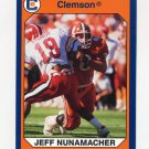 1990-91 Clemson Collegiate Collection #053 Jeff Nunamacher - Clemson Tigers