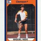 1990-91 Clemson Collegiate Collection #050 Miguel Nido - Clemson Tigers
