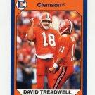 1990-91 Clemson Collegiate Collection #041 David Treadwell - Clemson Tigers
