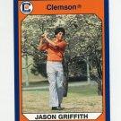 1990-91 Clemson Collegiate Collection #038 Jason Griffith - Clemson Tigers