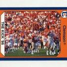 1990-91 Clemson Collegiate Collection #036 The Kick 1986 - Clemson Tigers