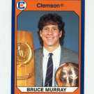1990-91 Clemson Collegiate Collection #033 Bruce Murray - Clemson Tigers