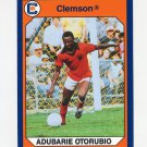 1990-91 Clemson Collegiate Collection #031 Adubarie Otorubio - Clemson Tigers