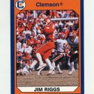 1990-91 Clemson Collegiate Collection #030 Jim Riggs - Clemson Tigers