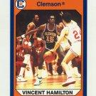 1990-91 Clemson Collegiate Collection #024 Vincent Hamilton - Clemson Tigers