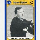 1990 Notre Dame 200 Football #156 Angelo Bertelli - University of Notre Dame