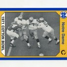 1990 Notre Dame 200 Football #139 1971 Cotton Bowl - University of Notre Dame