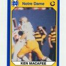 1990 Notre Dame 200 Football #023 Ken MacAfee - University of Notre Dame