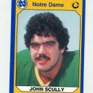 1990 Notre Dame 200 Football #012 John Scully - University of Notre Dame