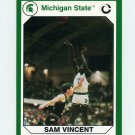 1990-91 Michigan State Collegiate Collection 200 #198 Sam Vincent - Michigan State Spartans