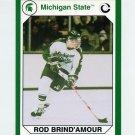 1990-91 Michigan State Collegiate Collection 200 #197 Rod Brind'Amour - Michigan State Spartans