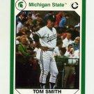 1990-91 Michigan State Collegiate Collection 200 #195 Tom Smith - Michigan State Spartans