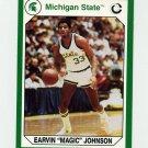1990-91 Michigan State Collegiate Collection 200 #182 Magic Johnson - Michigan State Spartans