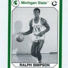 1990-91 Michigan State Collegiate Collection 200 #170 Ralph Simpson - Michigan State Spartans