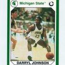 1990-91 Michigan State Collegiate Collection 200 #168 Darryl Johnson - Michigan State Spartans