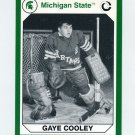 1990-91 Michigan State Collegiate Collection 200 #164 Gaye Cooley - Michigan State Spartans