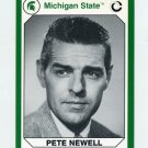1990-91 Michigan State Collegiate Collection 200 #161 Pete Newell - Michigan State Spartans