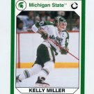 1990-91 Michigan State Collegiate Collection 200 #145 Kelly Miller - Michigan State Spartans