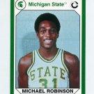 1990-91 Michigan State Collegiate Collection 200 #143 Michael Robinson - Michigan State Spartans
