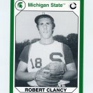 1990-91 Michigan State Collegiate Collection 200 #116 Robert Clancy - Michigan State Spartans