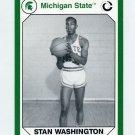 1990-91 Michigan State Collegiate Collection 200 #113 Stan Washington - Michigan State Spartans