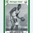 1990-91 Michigan State Collegiate Collection 200 #111 Lee Lafayette - Michigan State Spartans