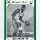 1990-91 Michigan State Collegiate Collection 200 #111 Lee Lafayette - Michigan State Spartans