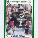 1990-91 Michigan State Collegiate Collection 200 #096 Andre Rison - Michigan State Spartans