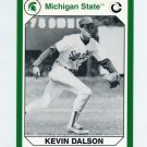 1990-91 Michigan State Collegiate Collection 200 #094 Kevin Dalson - Michigan State Spartans