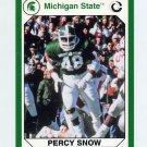 1990-91 Michigan State Collegiate Collection 200 #082 Percy Snow - Michigan State Spartans