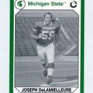 1990-91 Michigan State Collegiate Collection 200 #063 Joe DeLamielleure - Michigan State Spartans