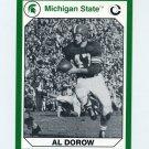 1990-91 Michigan State Collegiate Collection 200 #061 Al Dorow - Michigan State Spartans