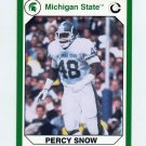1990-91 Michigan State Collegiate Collection 200 #056 Percy Snow - Michigan State Spartans