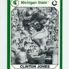 1990-91 Michigan State Collegiate Collection 200 #050 Clinton Jones - Michigan State Spartans