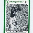 1990-91 Michigan State Collegiate Collection 200 #033 Ellis Duckett - Michigan State Spartans