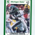 1990-91 Michigan State Collegiate Collection 200 #031 Lorenzo White - Michigan State Spartans