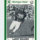 1990-91 Michigan State Collegiate Collection 200 #030 LeRoy Bolden - Michigan State Spartans