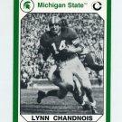1990-91 Michigan State Collegiate Collection 200 #026 Lynn Chandnois - Michigan State Spartans