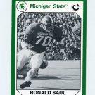 1990-91 Michigan State Collegiate Collection 200 #021 Ronald Saul - Michigan State Spartans