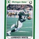 1990-91 Michigan State Collegiate Collection 200 #019 Lorenzo White - Michigan State Spartans