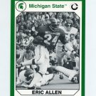 1990-91 Michigan State Collegiate Collection 200 #014 Eric Allen - Michigan State Spartans