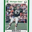 1990-91 Michigan State Collegiate Collection 200 #009 Bob Kula - Michigan State Spartans