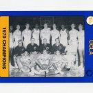 1991 UCLA Collegiate Collection #137 1970 Team Photo - UCLA Bruins